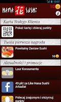 Screenshot of Hana Sushi