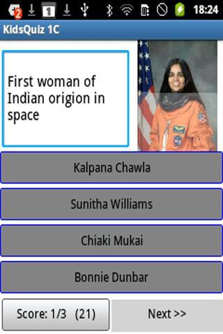 Kidz Quiz Indian Level1C