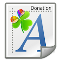 GO Launcher Fonts - Donation icon