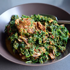 Saag Gosht (Lamb with Spinach Sauce)