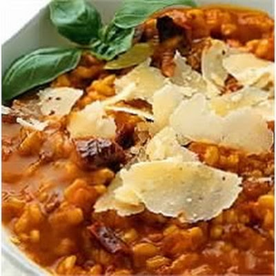 Roasted and Sun-dried Tomato Risotto