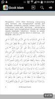 Screenshot of Pustaka Ebook Islam