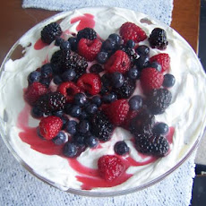 Tremendous Triple Berry Trifle