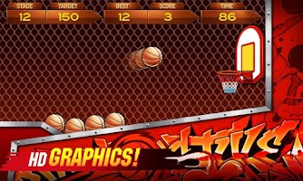 Screenshot of BasketBall 2014