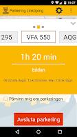 Screenshot of Parkering Linköping
