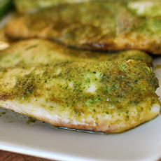 Baked Tilapia with Ginger and Cilantro
