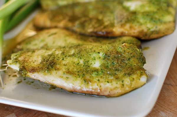 Baked Tilapia with Ginger and Cilantro Recipe | Yummly