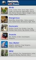 Screenshot of Animals and Birds