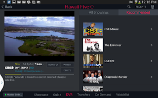Screenshot of DISH Anywhere