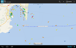 Screenshot of VesselFinder