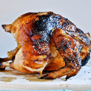 Brown Sugar Butter Roasted Chicken