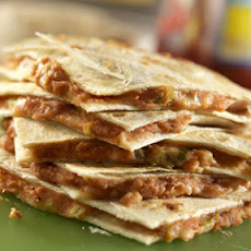 Pinto Bean and Feta Cheese Quesadillas