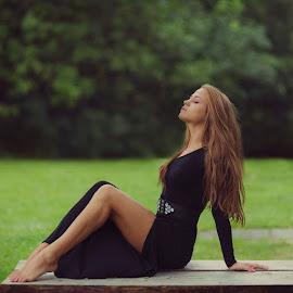 Gabriela by Dinko Dinev - People Portraits of Women ( woman, ballerina, passion, portrait )