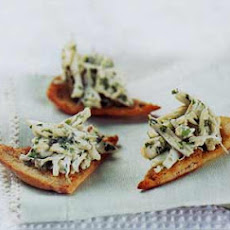Crab Canapés with Cumin