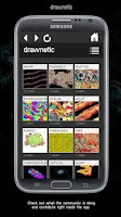 Screenshot of DRAWNETIC – KINETIC DRAWING