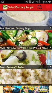 Salad Dressings Recipes - screenshot