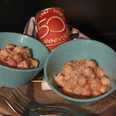 Tricolor Gnocchi with Sausage Ragu