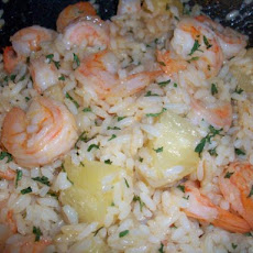 Thai Shrimp Fried Rice With Pineapple