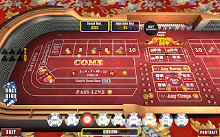 Screenshot of Real Craps