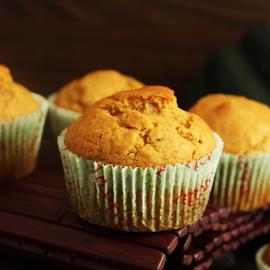 Pumpkin Muffins by Vrinda Mahesh - Food & Drink Cooking & Baking ( desserts, pumpkin recipes, muffins, fall muffins, pumpkin, food, fall desserts )