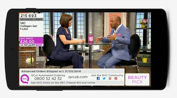 Screenshot of QVC (UK)