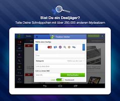 Screenshot of mydealz Schnäppchen&Gutscheine