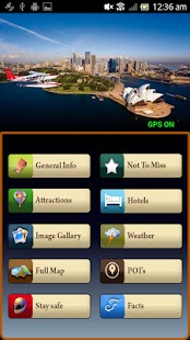 Sydney Offline Travel Guide - screenshot