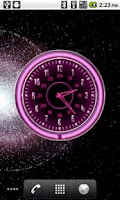 Screenshot of 10 Pink Neon Clocks