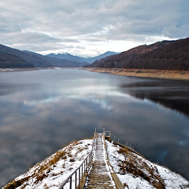 Stairway to water by Gabi Varzan - Landscapes Travel ( water, stairway )