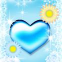 Glitter Heart icon