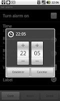 Screenshot of Magic Alarm