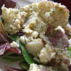 Red Skin Potato and Dill Salad