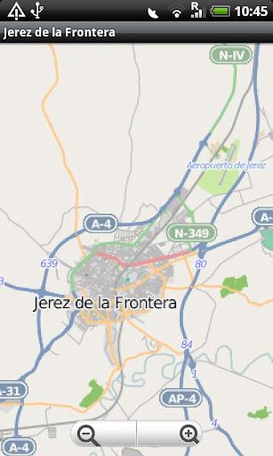 Jerez de la Frontera Street Ma