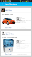 Screenshot of Free Classifieds