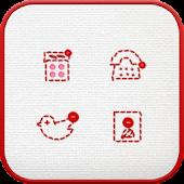 App Stitch icon theme apk for kindle fire