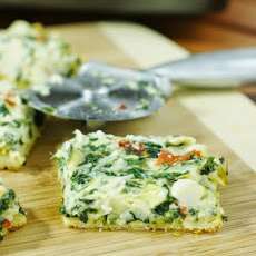 Spinach and Artichoke Dip Party Squares