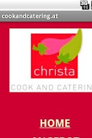 Screenshot of cookandcatering.at