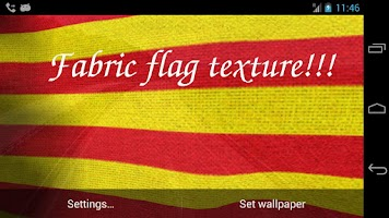 Screenshot of Catalunya Flag Live Wallpaper