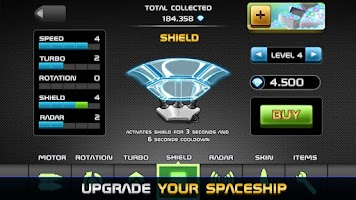 Screenshot of Infinity Space