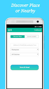 FoodSearch - screenshot