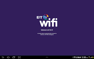 Screenshot of BT Wi-fi