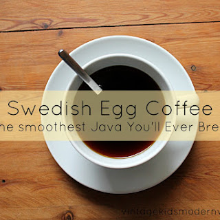 Swedish (Egg) Coffee