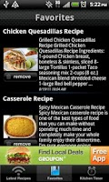 Screenshot of Gluten Free Recipes