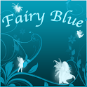 Fairy Blue Clock icon