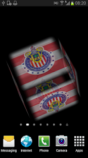Ball 3D Chivas Guadalajara LWP - screenshot