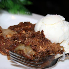 Depression Era Apple Candy Pie