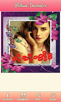 Screenshot of Photo Decorator