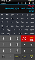 Screenshot of Scientific Calculator (adfree)