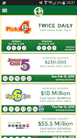 Screenshot of New Jersey Lottery