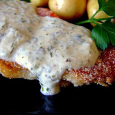Herb Cheese Sauce for Fish